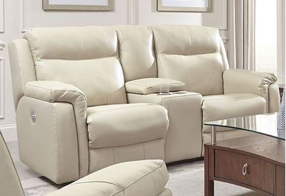 887 Uptown Loveseat with Console