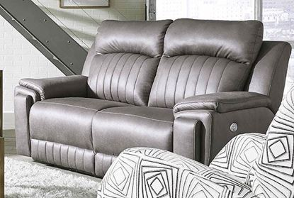 Picture of Socozi - 743-Silver Screen Loveseat