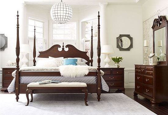 Hadleigh Rice Carved Bedroom