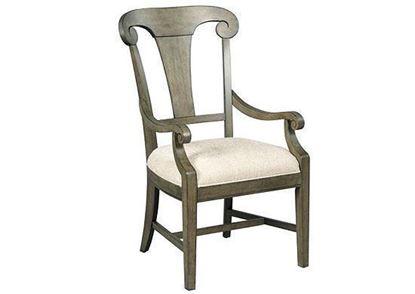 Fulton Splat Back Arm Chair (608-637)