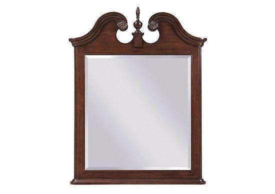 Hadleigh Vertical Pediment Mirror (607-030)