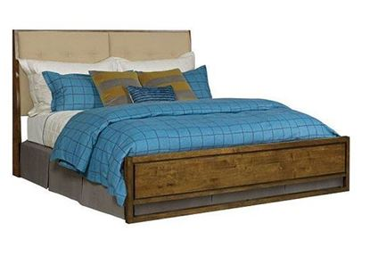 Picture of PatterMaker Upholstered Panel Bed
