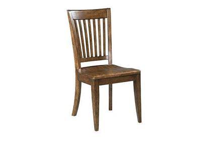 The Nook Slat Back Side Chair 664-622