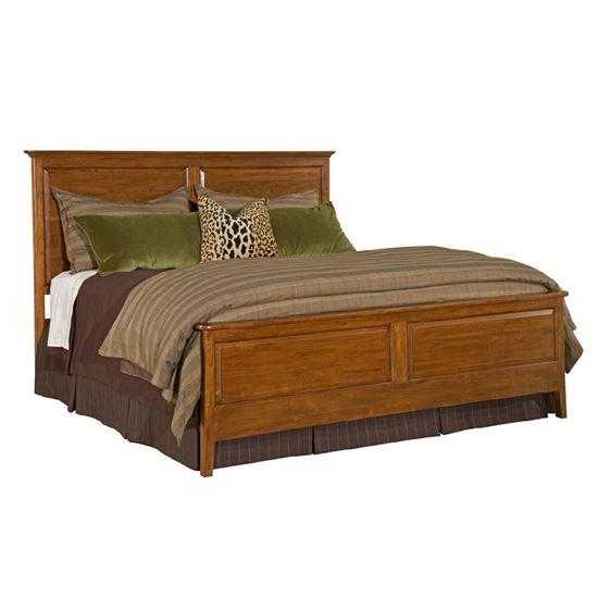 Cherry Park Panel Bed