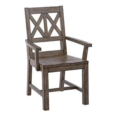 Foundry Wood Arm Chair 59-062