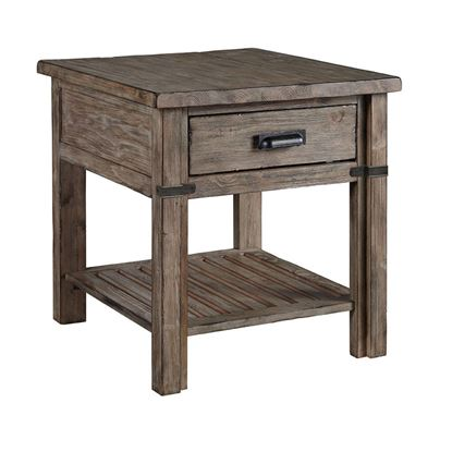 Foundry Drawer End Table 59-022