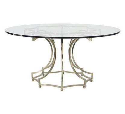 Picture of Miramont Glass Top Dining Table