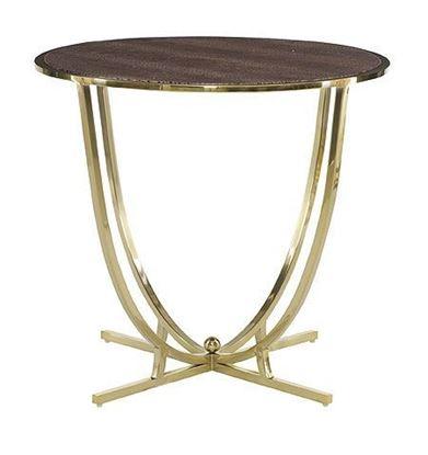 Jet Set Round End Table (356-126)
