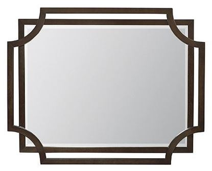 Jet Set Wood Frame Mirror