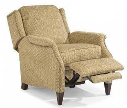 Picture of Zevon Fabric High-Leg Recliner