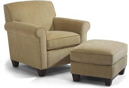Dana Fabric Chair & Ottoman 5990-10