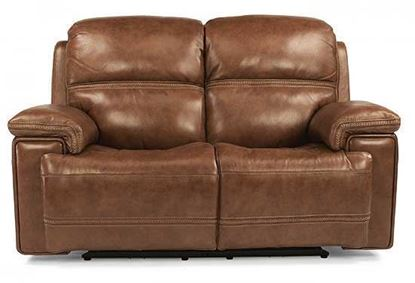 Fenwick Power Reclining Leather Loveseat (1659-60PH)