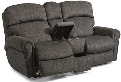 Langston Reclining Loveseat with Console (4504-601)