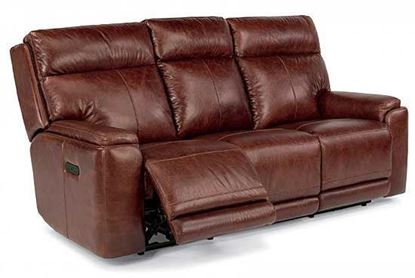 Sienna Power Reclining Leather Sofa