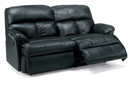 Picture of Triton Leather Studio Sofa (3098-61)
