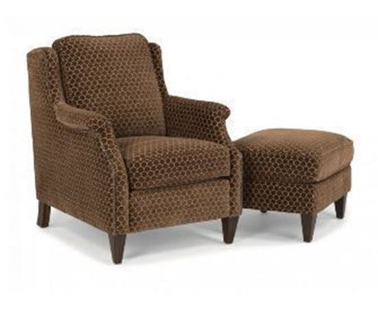 Picture of Zevon Fabric Chair & Ottoman