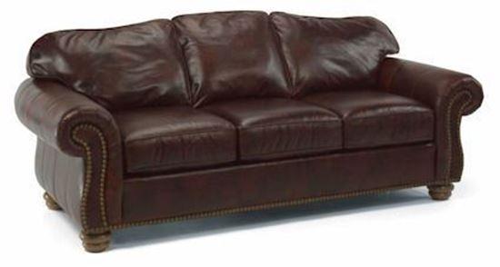 Bexley Leather Sofa w/Nails