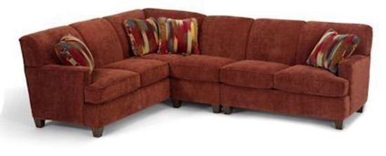 Dempsey Fabric Sectional Model 5641