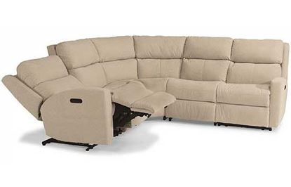 Catalina Power Reclining Leather Sectional
