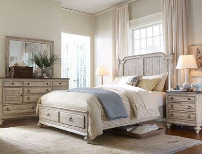 Weatherford Bedroom with Cornsilk finish