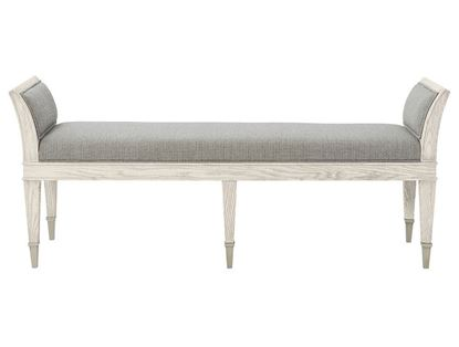 Domaine Blanc Upholstered Bench 374-508