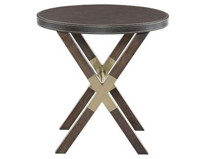 Clarendon Round End Table 377-125