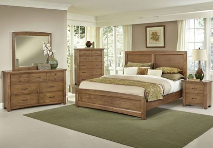 Transitions Bedroom Collection with Dark Oak finish