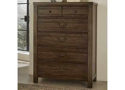 Urban Crossing 5 Drawer Chest in a Canterbury finish