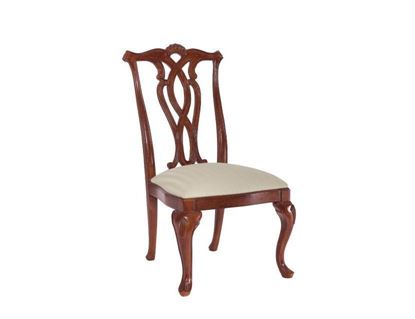Picture of Cherry Grove Pierced Back Side Chair 792-636