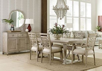 Vista Dining collection with Clayton Rectangular Table