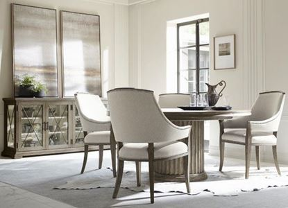 Canyon Ridge Dining Collection with Round Dining Table by Bernhardt furniture