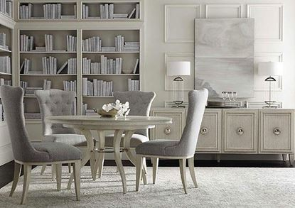 Allure Dining Collection with Round Dining Table by Bernhardt furniture