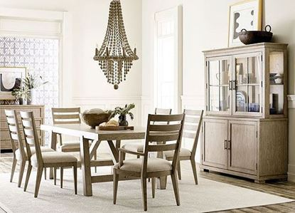 American Drew West Fork Dining Collection with Gilmore Dining Table