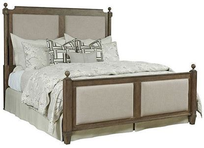 Anson collection - Sunderland Queen Upholstered Bed Complete 927-324R by American Drew furniture