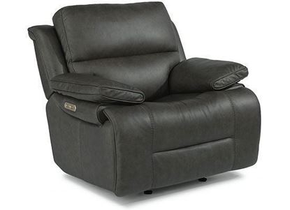 Apollo Leather Power Gliding Recliner (1849-54PH) by Flexsteel furniture
