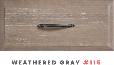 Weathered Gray Drawer